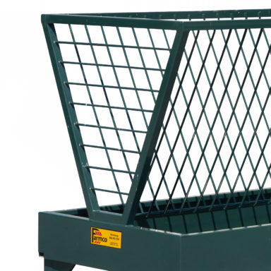square bale horse feeder frame 1