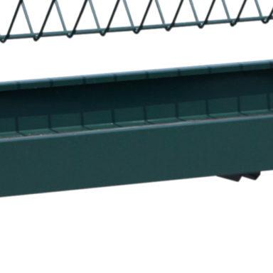 square bale horse feeder trough 1