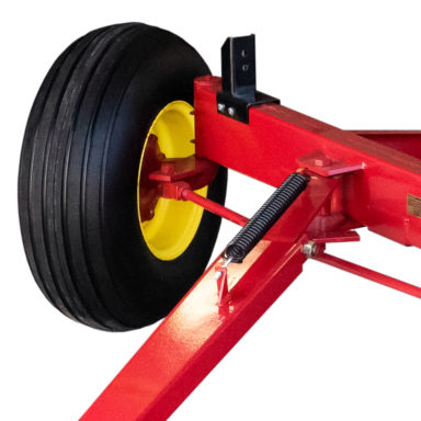 steering system for the bale wagon