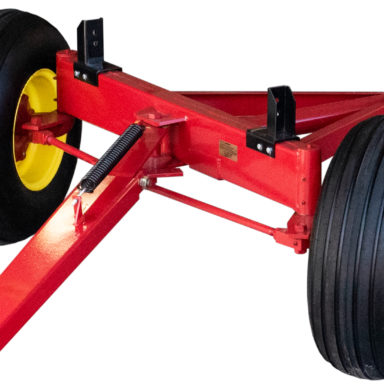 2 wheel front assembly for the hay wagon running gear