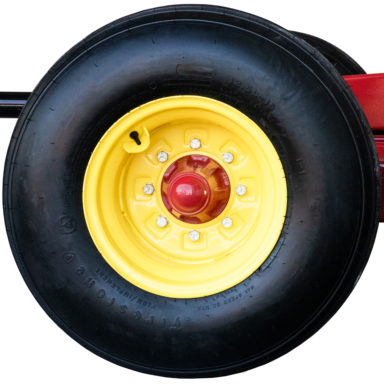 wheel for the hay wagon running gear