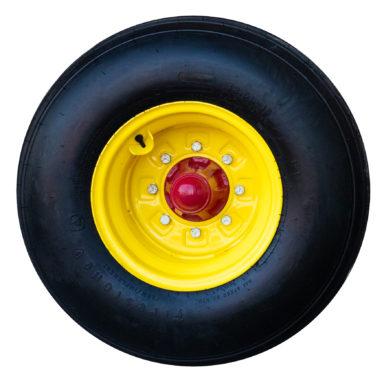round bale wagon wheel 1