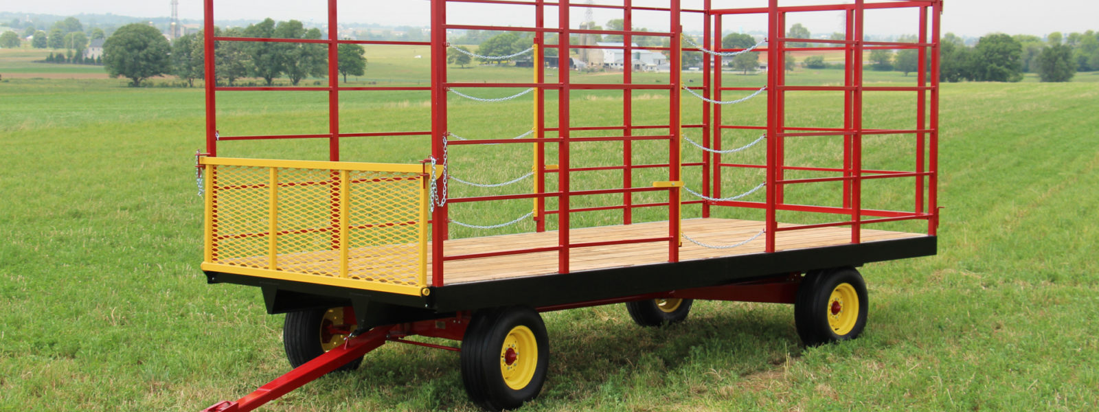 A hay wagon for sale from Farmco