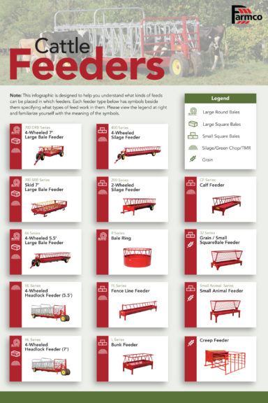 cattle feeder infographic