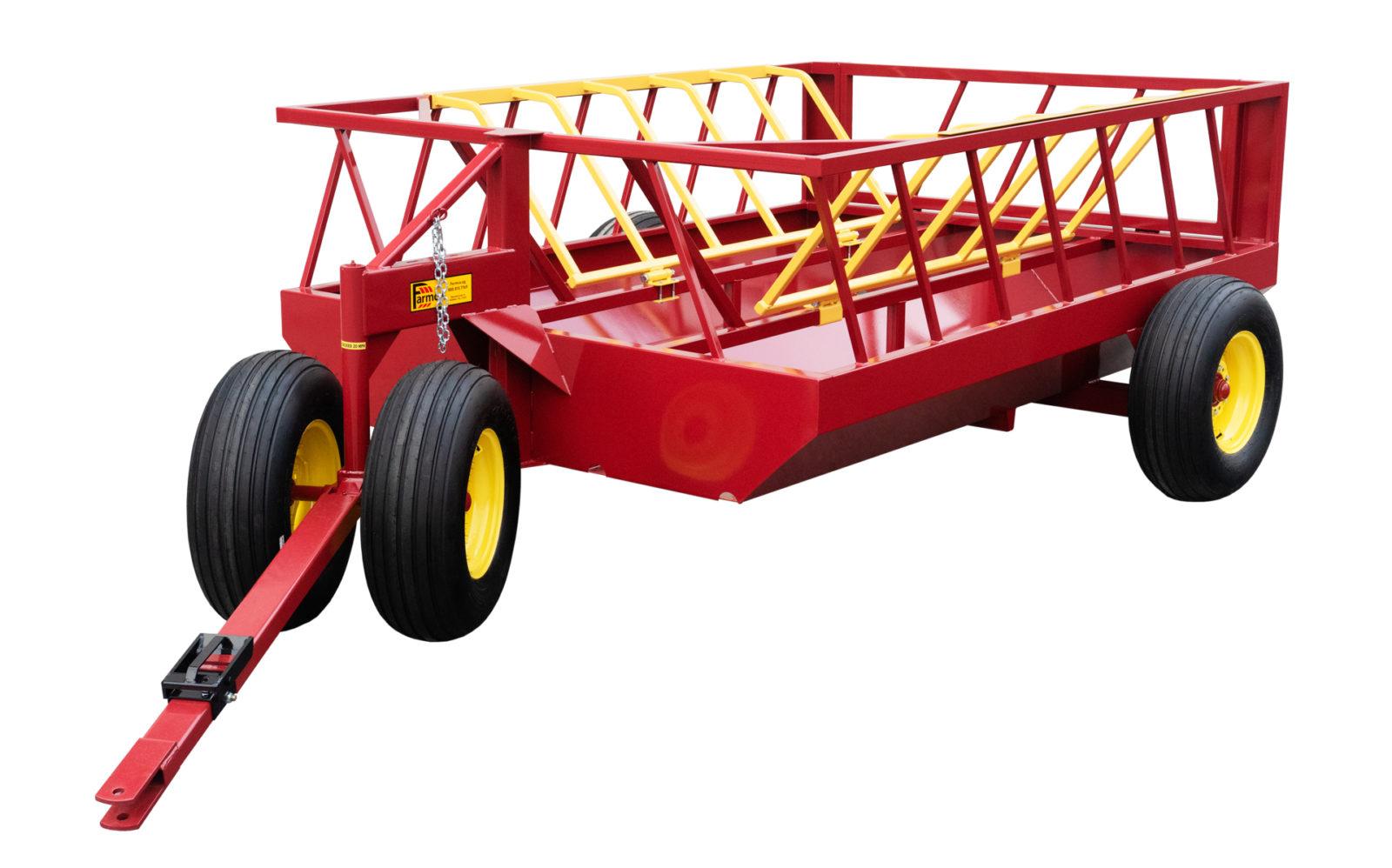 cattle hay feeder on wheels