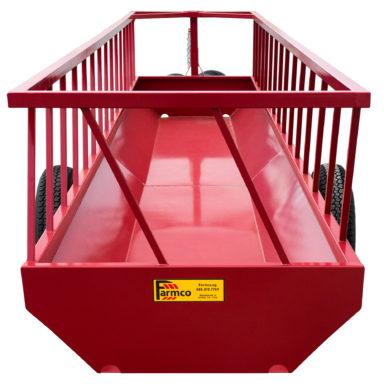 Head of silage feeder wagon