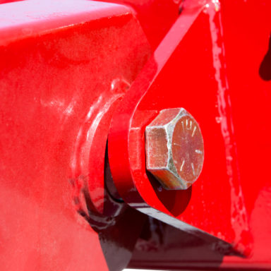 screw inside joint for farm wagon running gear