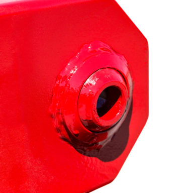 ball joint for articulating wagon gear