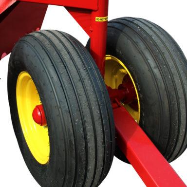 silage feeder wagon wheels