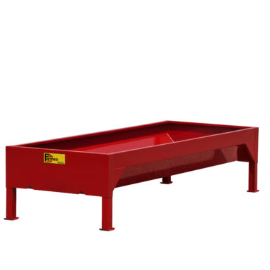bunk feeder without slant bars