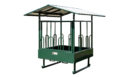 round bale hay feeder for horses 1 2